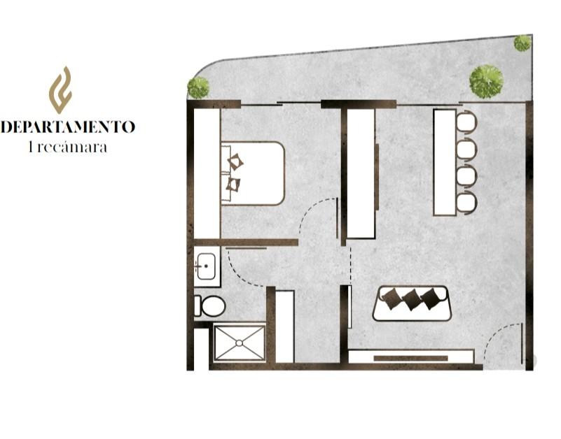 Tulum PhF 1 bdrm Apartment realtyinmexico